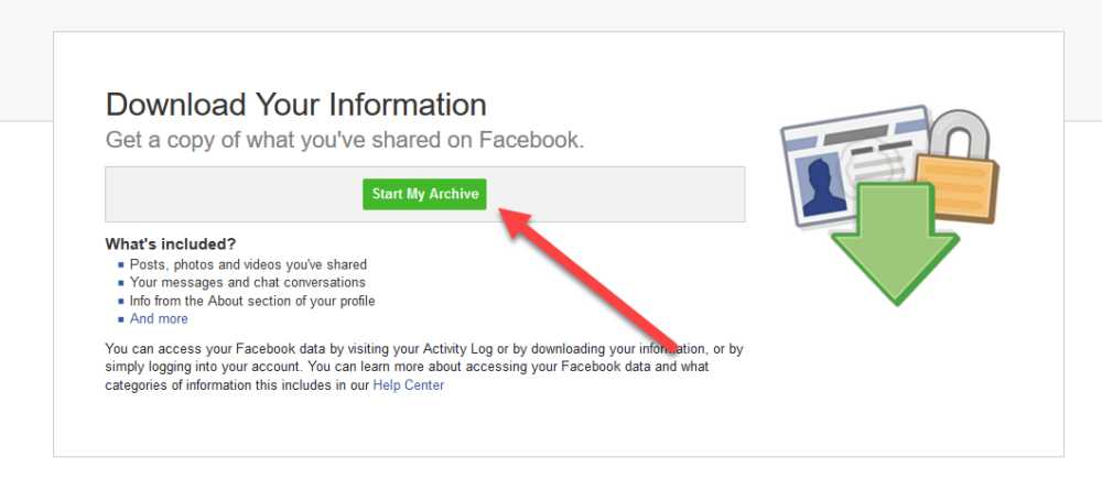 Excluir Facebook download Archive
