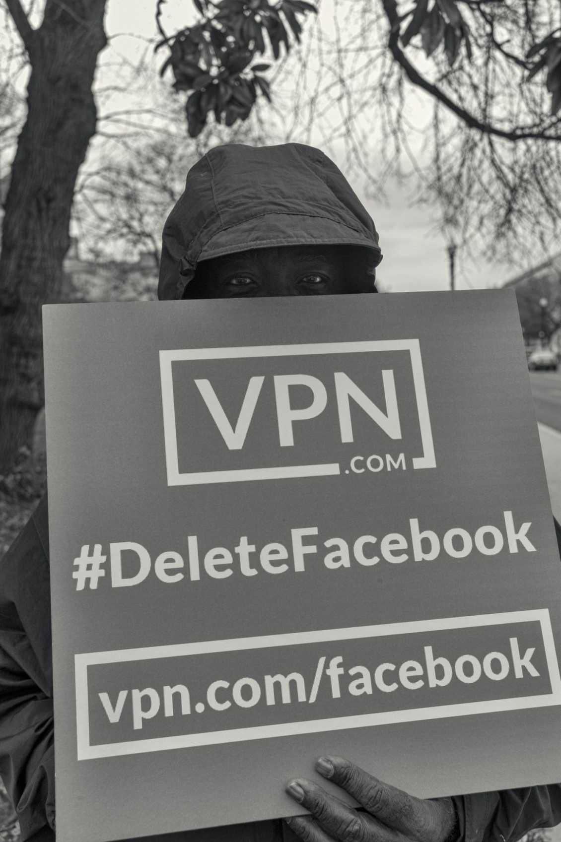 Vpn Washington Deletefacebook Protest
