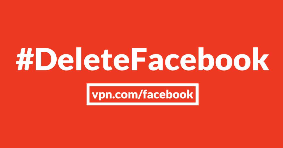 Vpn Delete Facebook