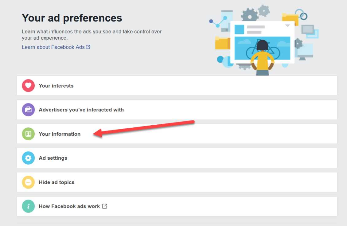 Delete Facebook Ad Preferences