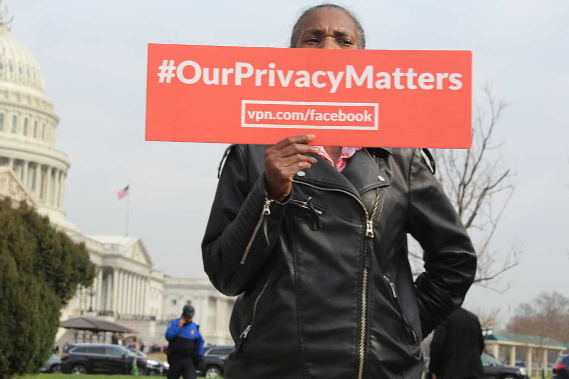Vpn Washington Deletefacebook Protest Our Privacy Matters
